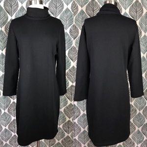 Reformation Fleece Turtleneck Sweater Dress